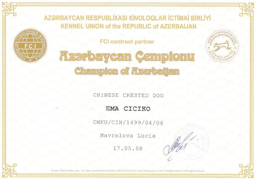 šampion Azerbajdžánu
